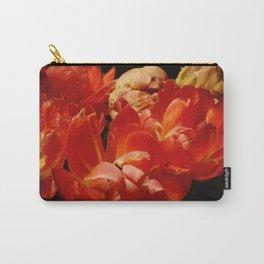 Parrot Tulips bouquet Close up IX Carry-All Pouch