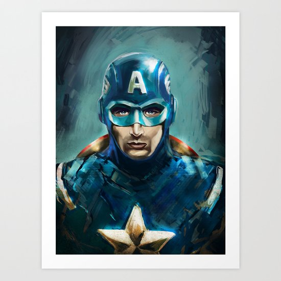 The Patriot Art Print