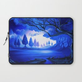 Mysterious Lake Laptop Sleeve