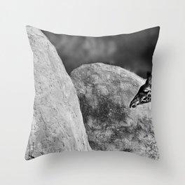 Whiteout - Giraffe Throw Pillow