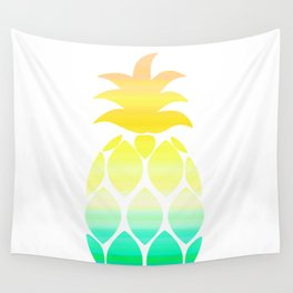 Tropical pineapple Wall Tapestry