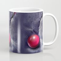 moulin rouge Mugs featuring ROUGE by INA FineArt