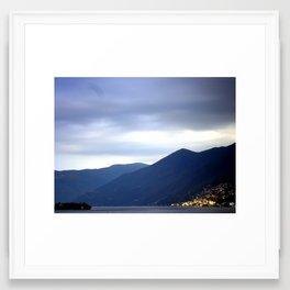 Asconia Switzerland Framed Art Print