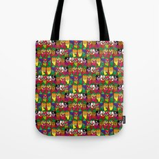 Red Hot Chili Pattern 02 Tote Bag