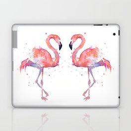 Flamingo Watercolor Laptop & iPad Skin