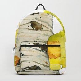 Falling Aspen Leaves Backpack