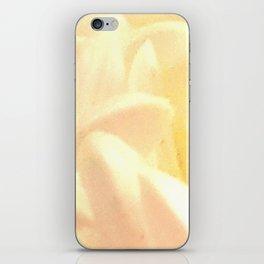 White Chrissy iPhone Skin