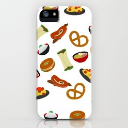 all the food iPhone Case