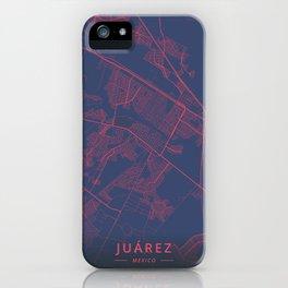 Juarez, Mexico - Neon iPhone Case