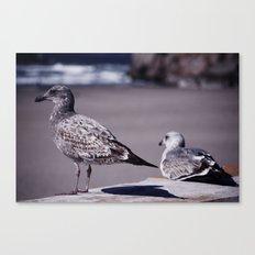 Beach Watch Canvas Print