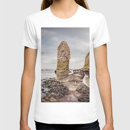 Stack and chalk cliffs T-shirt