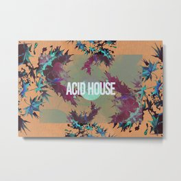 Acid House IV Metal Print