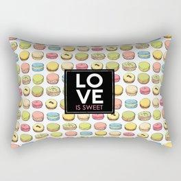 Love is sweet. Rectangular Pillow