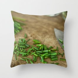 In the Kitchen 4 Throw Pillow