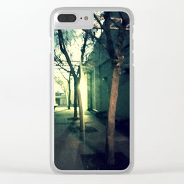 Evening Star Clear iPhone Case