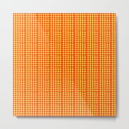 Yellow and red fandatsy Metal Print