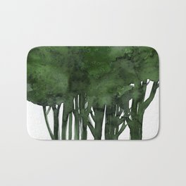 Tree Impressions No.1C by Kathy Morton Stanion Bath Mat