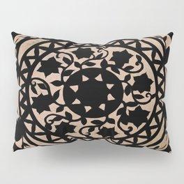 Black Scissor Cut Out Pillow Sham