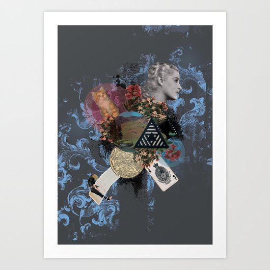 What Went Before Part 3 Art Print