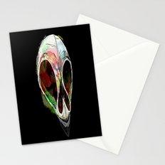 Rainbow Skull Stationery Cards