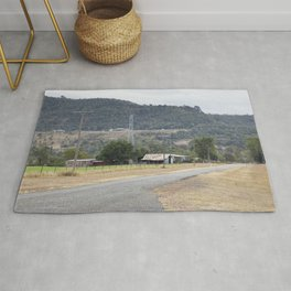 Old Country road Rug