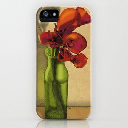 Calla lilies in bloom iPhone Case