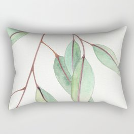 Eucalyptus Leaves One Rectangular Pillow