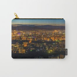 Aerial View of Ulaanbaatar, Mongolia at Dusk Carry-All Pouch