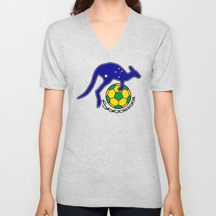 Australia Socceroos ~Group C~ Unisex V-Neck