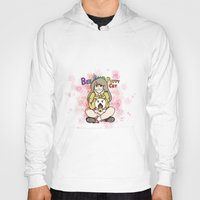 bee and puppycat Hoodies featuring Bee and Puppycat by diana benitez