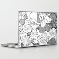 tapestry Laptop & iPad Skins featuring Tapestry by Madame Mim