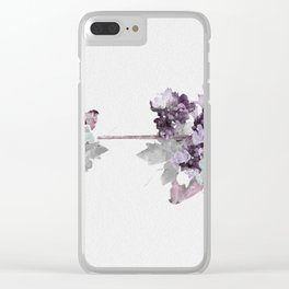 Flower Pwr II Clear iPhone Case