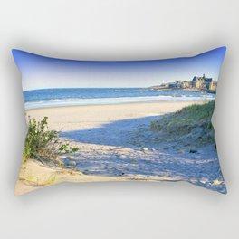 The Towers - Narragansett Town Beach, Rhode Island Rectangular Pillow