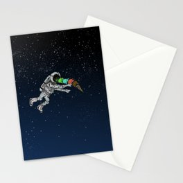 Spacetime Sadness Stationery Cards