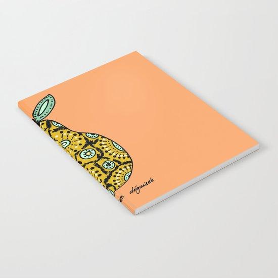 une poire déguisée Notebook