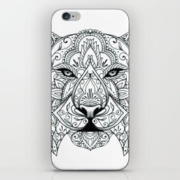 Big Cat Portrait iPhone Skin