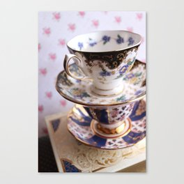 Teacup Duo Canvas Print