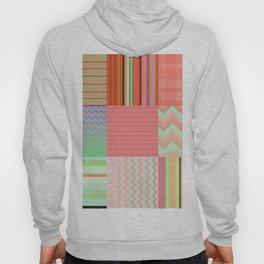 Stripes and chevron mixed color fantasy Hoody
