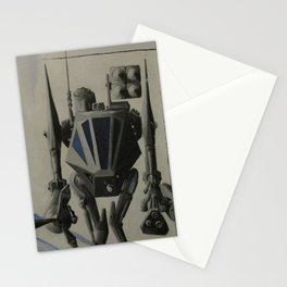 Just the mech this time Stationery Cards