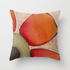 Tapas Abstract 2 Throw Pillow