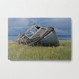 Last Days of the Jamie G. Metal Print