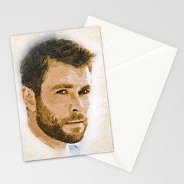 A Tribute to CHRIS HEMSWORTH Stationery Cards