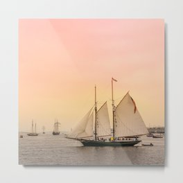 Morning of Glory 2 - Sail Boston 2017 Metal Print