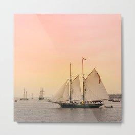 Morning of Glory 2 - Sail Boston 2017 Metal Print
