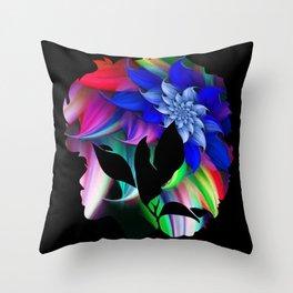 Afro Throw Pillow