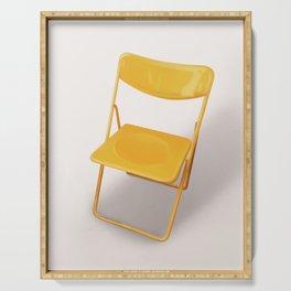 Vintage Chair Danish design Serving Tray