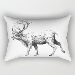 Caribou Rectangular Pillow