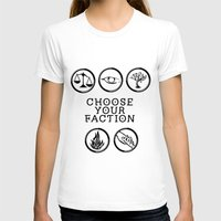 divergent T-shirts featuring Divergent - Choose your faction by Lunil