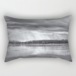 Birdland BW Rectangular Pillow