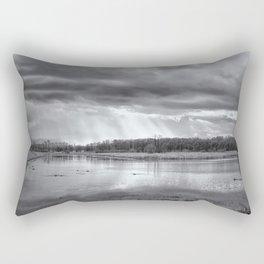 Birdland BW Rectangular Pillow
